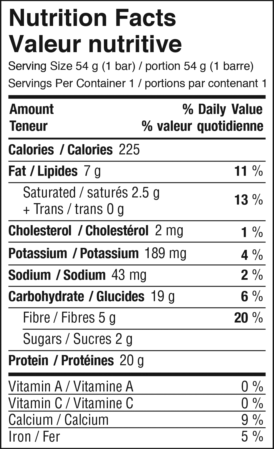Strawberry Cream Nutrition Facts